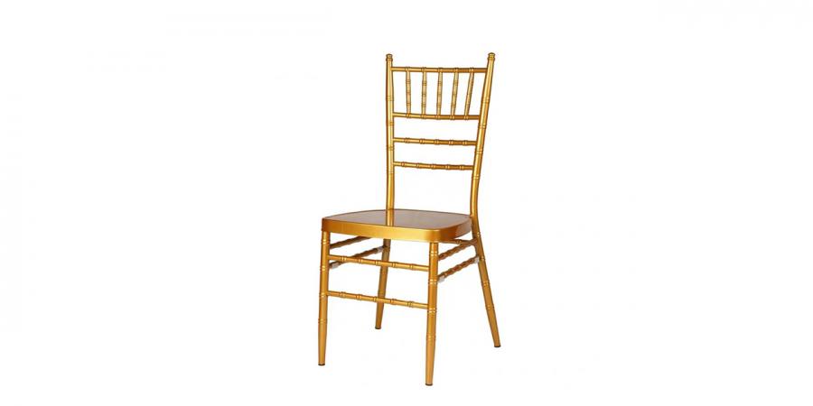 ბარის სკამი ნაჭრის ბალიშით, ოქროსფერი