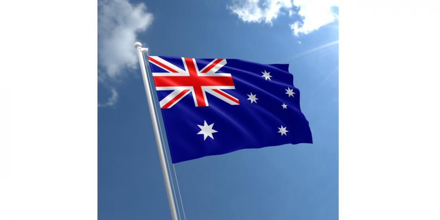 დროშა ნაჭრის ავსტრალია, 90X150სმ.