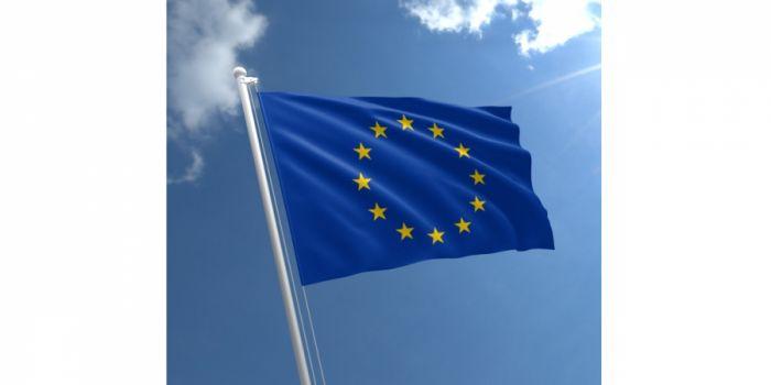 დროშა ნაჭრის ევროკავშირი, 100X150სმ.