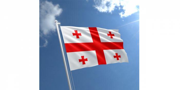 დროშა ნაჭრის საქართველო, 100X150სმ.