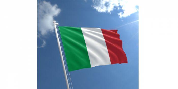 დროშა ნაჭრის იტალია, 90X150სმ.
