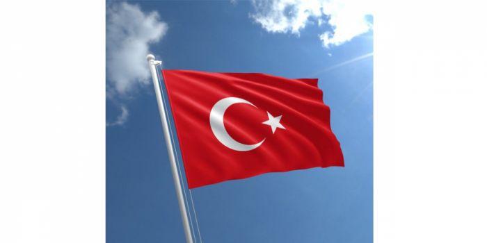 დროშა ნაჭრის თურქეთი, 90X150სმ.