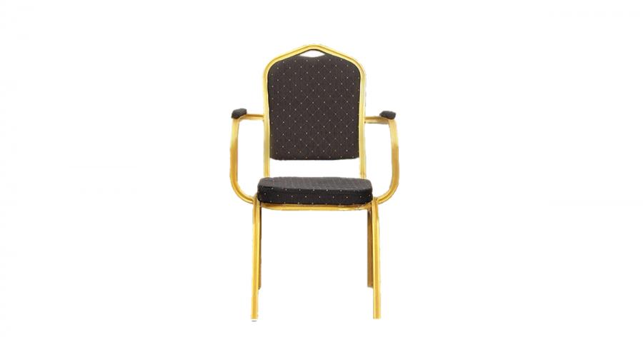 რესტორნის სკამი სახელურით