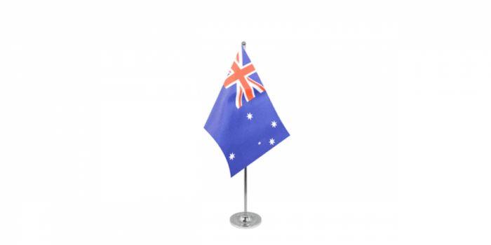 სამაგიდე დროშა ავსტრალია, 15X22.5სმ.