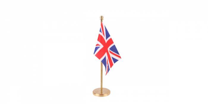 სამაგიდე დროშა ბრიტანეთი, 15X22.5სმ.