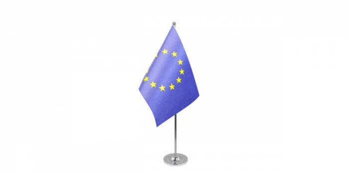 სამაგიდე დროშა ევროკავშირი, 15X22.5სმ.