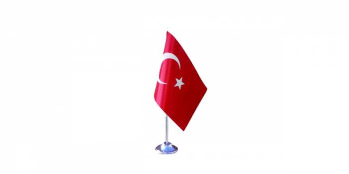 სამაგიდე დროშა თურქეთი, 15X22.5სმ.