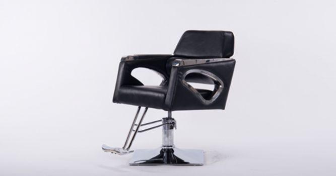 სალონის სკამი ტყავის ზედაპირით