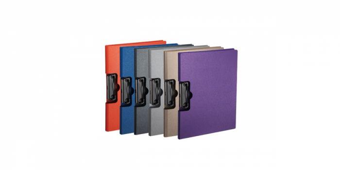 სამდივნო დაფა A4, პლასტიკური, ორმაგი, კლიპით, Comix