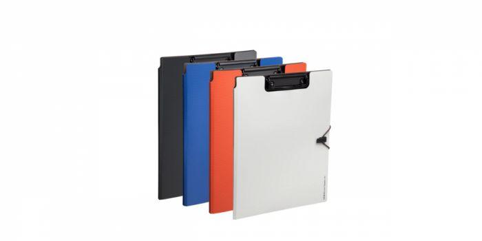 სამდივნო დაფა-საქაღალდე A4, პლასტიკური, შავი, Comix