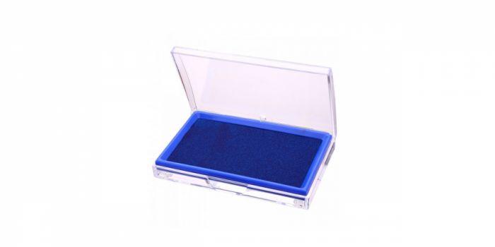 ბეჭდის ბალიში დატუმბული, ლურჯი, Deli