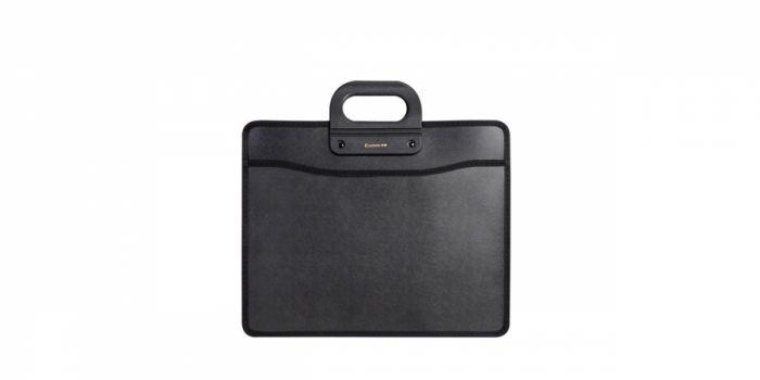 ბიზნეს ჩანთა A4, სახელურით, შავი, Comix