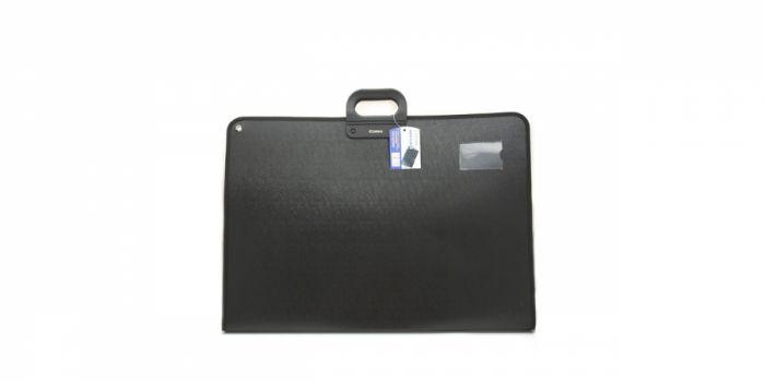 ბიზნეს ჩანთა, სახელურით, შავი, Comix