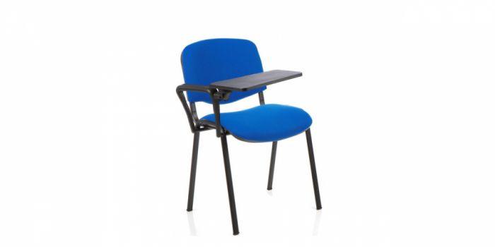 საოფისე სკამი ნაჭრის, დაფით