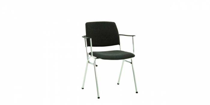 საოფისე სკამი ნაჭრის ზედაპირით