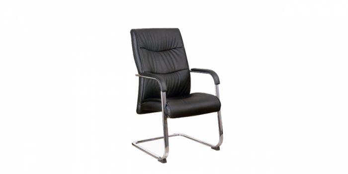 საკონფერენციო სკამი ტყავის ზედაპირით
