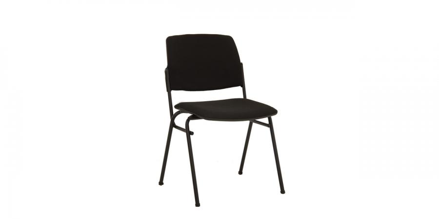 სკამი ნაჭრის ზედაპირით