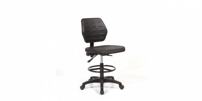 სკამი სამედიცინო პოლიურეთანის ზედაპირით, REBO 530, ანტისტატიკური