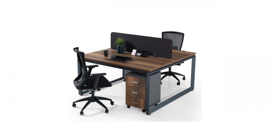 ორმხრივი მაგიდა 160x140x75სმ., IRON