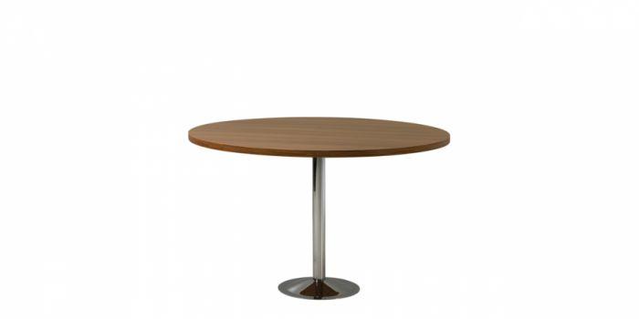 საკონფერენციო მაგიდა, მრგვალი, ალუბალი