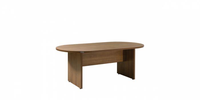 საკონფერენციო მაგიდა, მუქი კაკალი