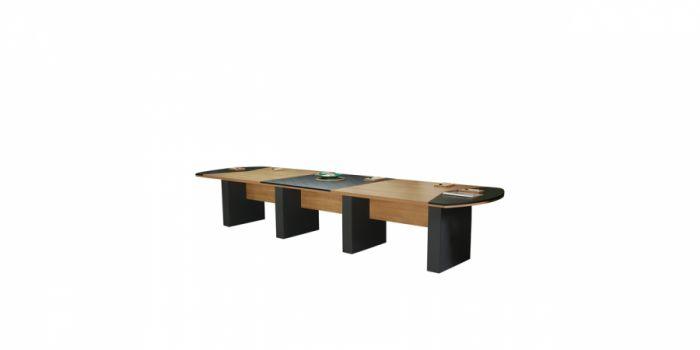 საკონფერენციო მაგიდა, ღია მუხა/ანტრაციტი