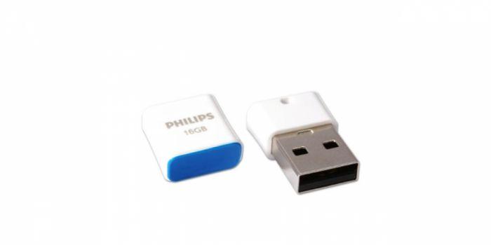 მეხსიერება 16GB, თეთრი / ლურჯი