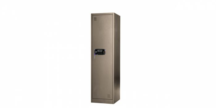 კარადა მეტალის 1 კარიანი, გასაღებითა და ელექტრონული საკეტით