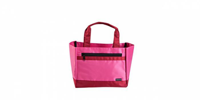 ლანჩის ჩანთა ნაჭრის, ვარდისფერი