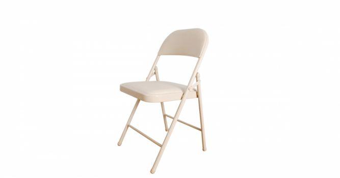 დასაკეცი სკამი ტყავის