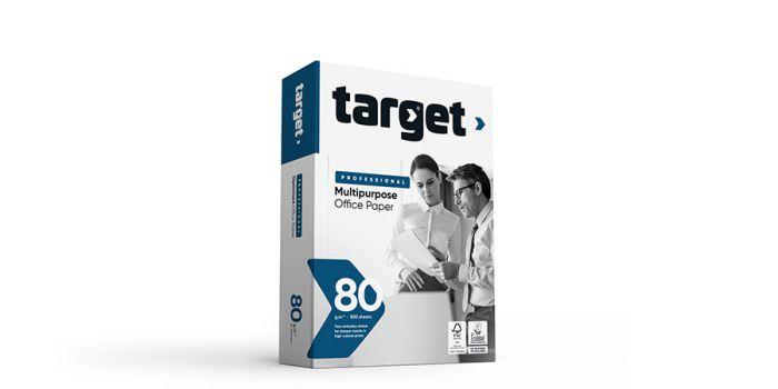 საოფისე ქაღალდი თარგეტ პროფესიონალ, target PROFESSIONAL, A4x500, 80გრ, (პორტუგალია)