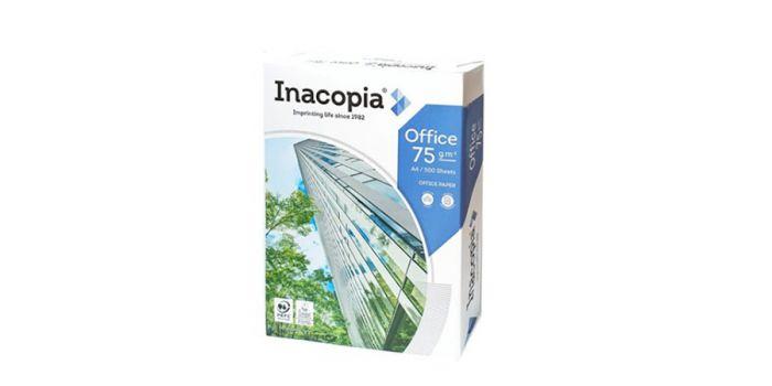 საოფისე ქაღალდი ინაკოპია ოფის, Inacopia office, A4x500, 75გრ, (პორტუგალია)