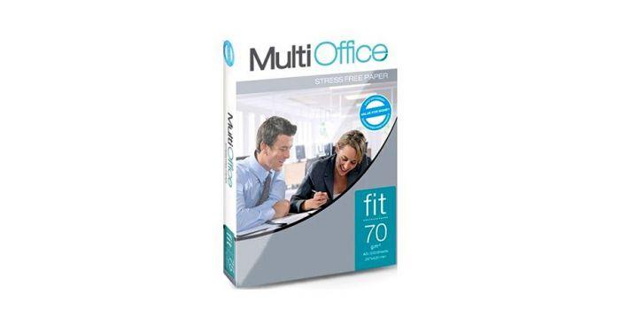 საოფისე ქაღალდი მულიტიოფის ფიტ, Multi Office fit, A4x500, 70გრ, (პორტუგალია)