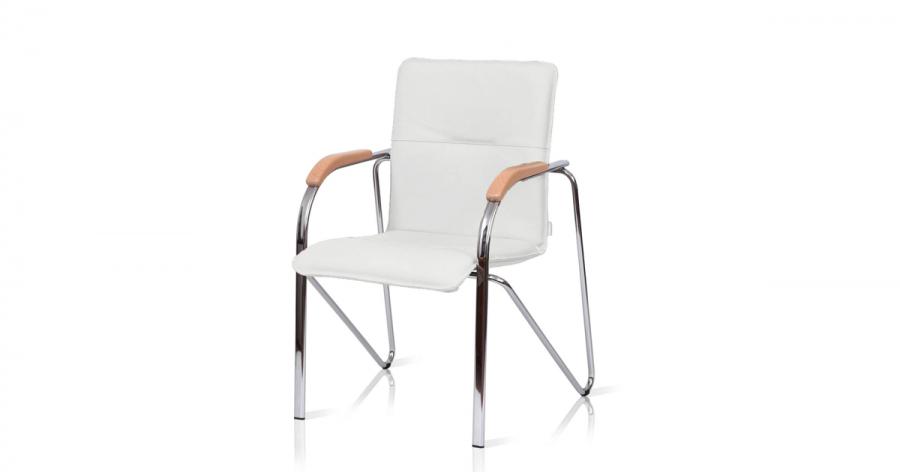 საკონფერენციო სკამი ტყავის