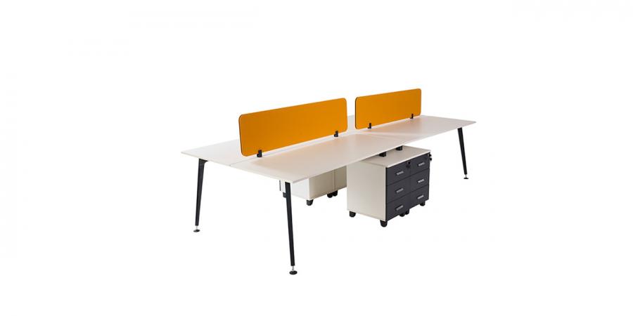 ორმხრივი მაგიდა LEGOLD PS09, ოთხ ადგილიანი, 4 ტუმბოთი
