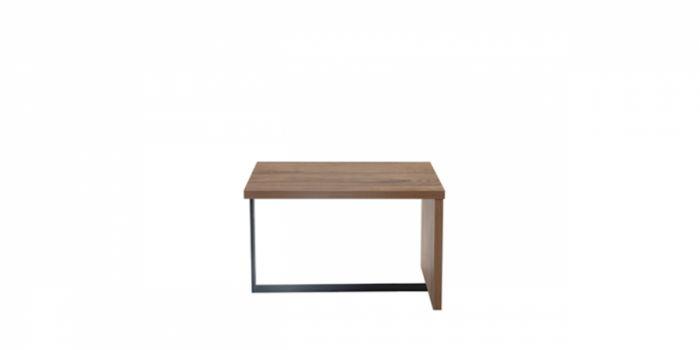 ჟურნალის მაგიდა ROHAN, კაკალი/შავი