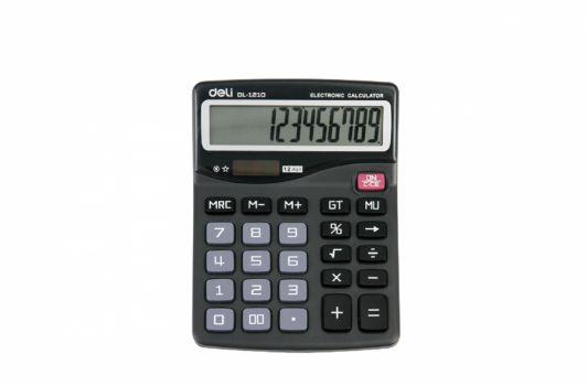 კალკულატორი 12 თანრიგიანი, 15x12სმ.