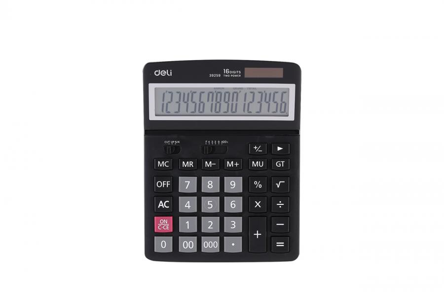 კალკულატორი 16 თანრიგიანი, 14x18სმ.