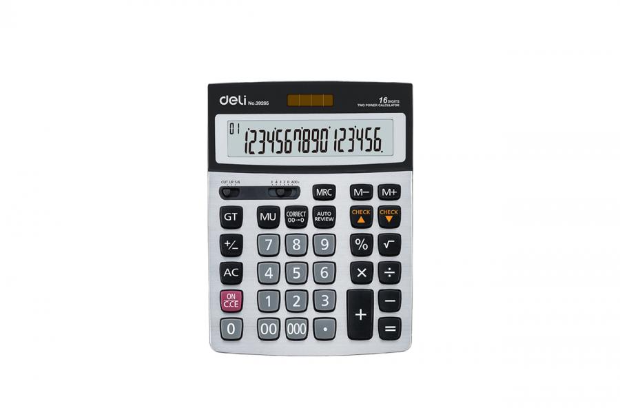 კალკულატორი 16 თანრიგიანი, 20x15სმ.