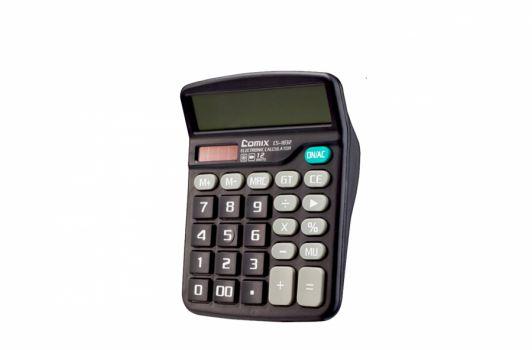 კალკულატორი, 12 თანრიგიანი, 15x12x4სმ., შავი