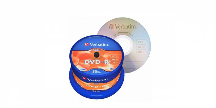დისკი DVD-R, 16x4.7GB.