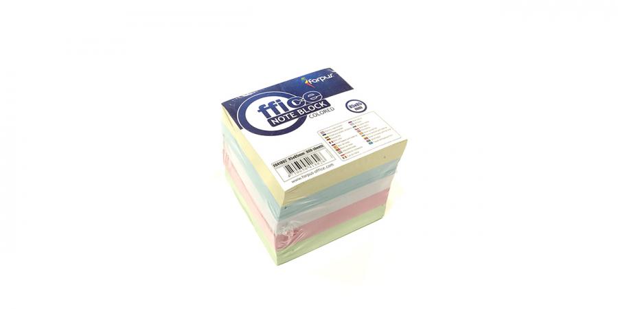 ჩასანიშნი ქაღალდი ფერადი 800 ფურცელი, ყუთის გარეშე