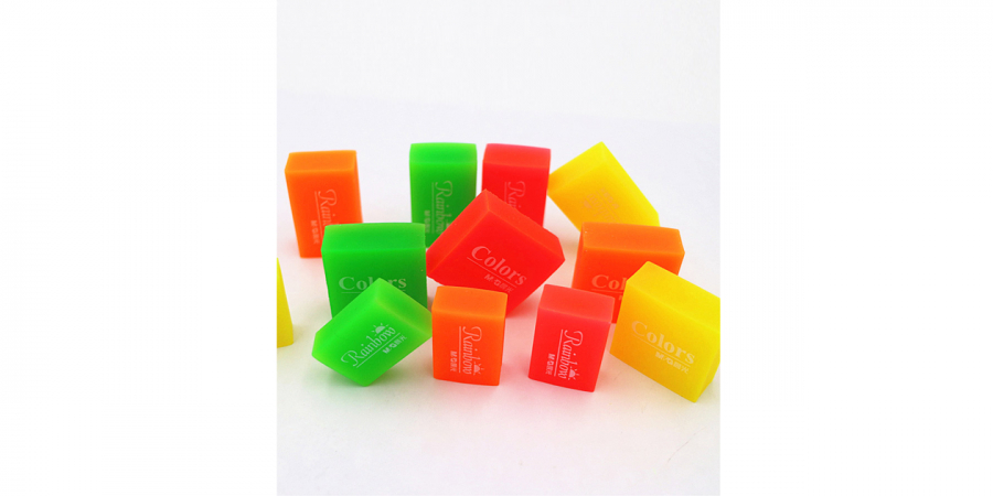 საშლელი დიდი, ფერადი, Jelly / Rainbow