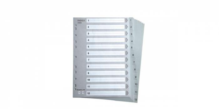 დივაიდერი A4, ციფრიანი, პლასტიკური, Comix