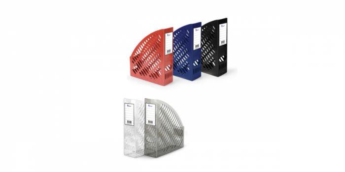 სასაბუთე ყუთი A4, პლასტიკური, 1 განყოფილებით, ვერტიკალური, Forpus