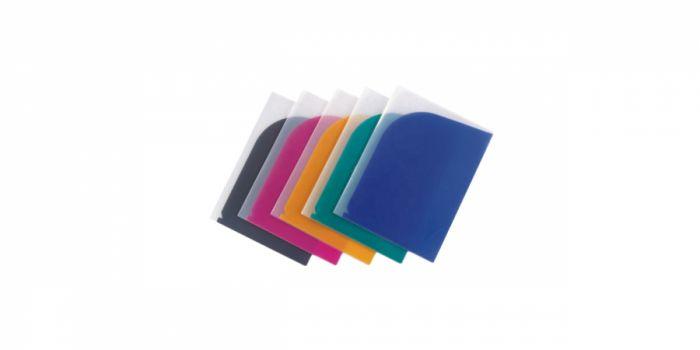 საქაღალდე A4, პლასტიკური, 8 განყოფილებიანი, ფერადი, Comix