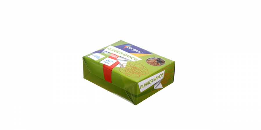 ფულის რეზინა 100გრ., ყავისფერი, ქაღალდის ყუთში, Forpus