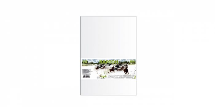 მუყაოს ქაღალდი 10 ფურცლიანი, 230გრ., თეთრი, Ofort