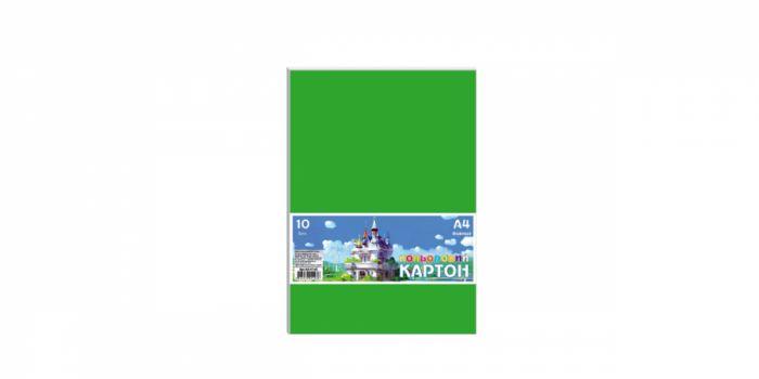 მუყაოს ქაღალდი A4, 10 ფერი, 10 ფურცლიანი, 230გრ., Ofort
