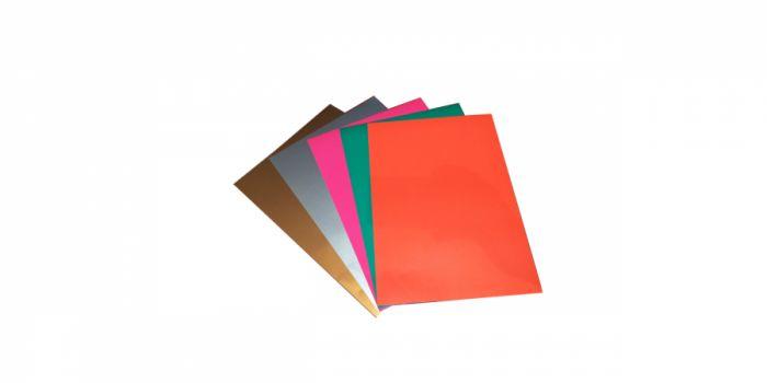 მუყაოს ქაღალდი А4, 9 ფურცელი, ფერადი ნეონი, Fresh